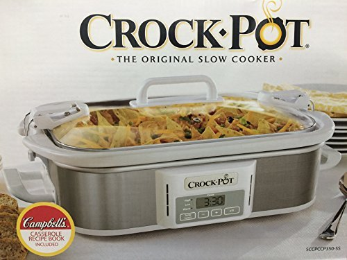 Crock-Pot Programmable Cook & Carry Casserole Crock Slow Cooker by Crock-Pot (9 X 13 Casserole Crock Pot compare prices)