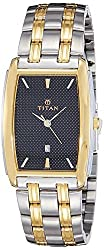 Titan Regalia Analog Black Dial Mens Watch - NE1163BM02