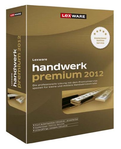 Lexware Financial Office Premium Handwerk 2012 Update (Version 12.00), PC
