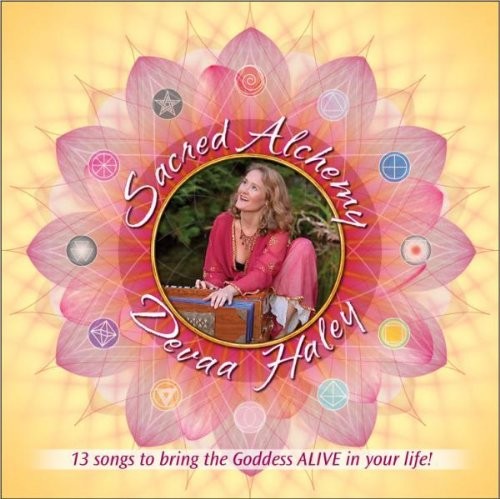 Sacred Alchemy: 13 Songs To Bring The Goddess Alive In Your Life (Cd) front-198411