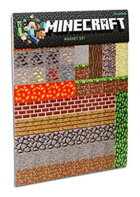 4 X Minecraft Sheet Magnets by ThinkGeek
