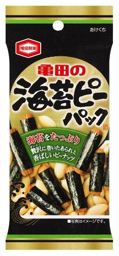 亀田製菓 海苔ピーパック 48g×10袋