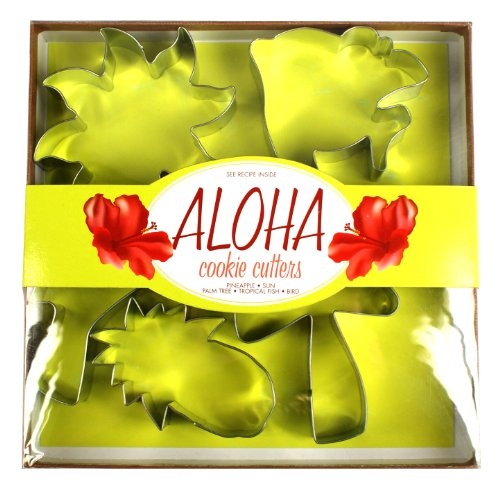 Fox Run Aloha Cookie Cutter Sets (Beach Themed Cookie Cutters compare prices)