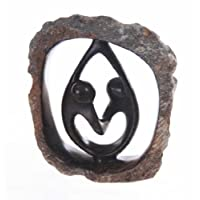 Shona Rock Ring Sculpture (Love Cast in Stone)