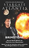 img - for STARGATE ATLANTIS: Brimstone book / textbook / text book