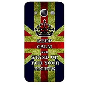Skin4gadgets Keep Calm and STAND UP FOR YOUR RIGHTS - Colour - UK Flag Phone Skin for SAMSUNG GALAXY E5 (E500 )