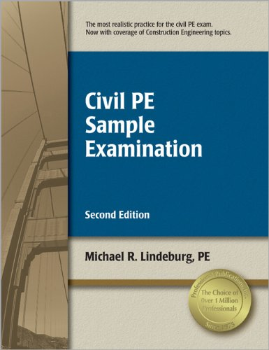 Civil PE Sample Examination - Professional Publications, Inc. - 159126135X - ISBN:159126135X