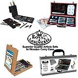 Royal & Langnickel Künstler Sätze Skitzen Öl Acryl Aquarell Kiste Gehäuse Box von Royal & Langnickel