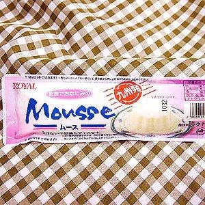 ムース 給食でおなじみのムース (ミルク)