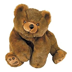 Large Teddy Bear - Mr Minky Brown Bear - Over 2 Feet Tall by Purr-fection by MJC