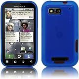 PrimaCase - Blau TPU Silikon Case für Motorola Defy / Defy+ Plus