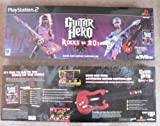 GUITAR HERO ROCKS THE 80'S WITH WIRED GUITAR PLAYSTATION 2
