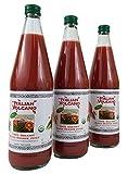Italian Volcano Blood Orange Juice (Three 750 ml Bottles)
