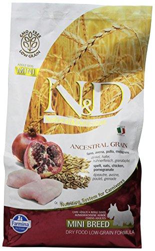 FARMINA - N&D LOW ANCESTRAL GRAIN ADULT MINI POLLO & MELOGRANO 2,5 KG. - 1618