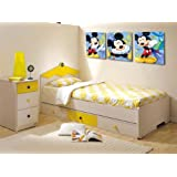 Wholesale Mickey Mouse cartoon picture printed on canvas without frame wall art home dwcoration YM-10080