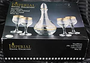 Imperial Crystal Collection Wine 5pcs Set