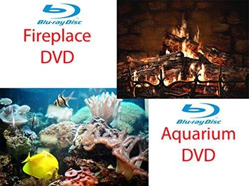 Fireplace BLU RAY DVD & Fish Home Aquarium BLU RAY DVD (Fireplace Dvd Blu Ray compare prices)