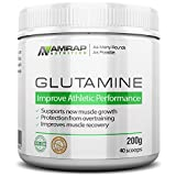 L-Glutamine Powder | AMRAP Nutrition - Pure Micronized Free-Form Glutamine Recovery Powder