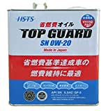 【AERA ENERGY】日本製 エンジンオイル TOPGURD 0W-20 SN/GF-5