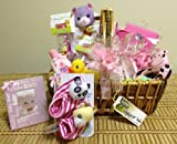 It's a Girl Premium Surprise Gift Basket