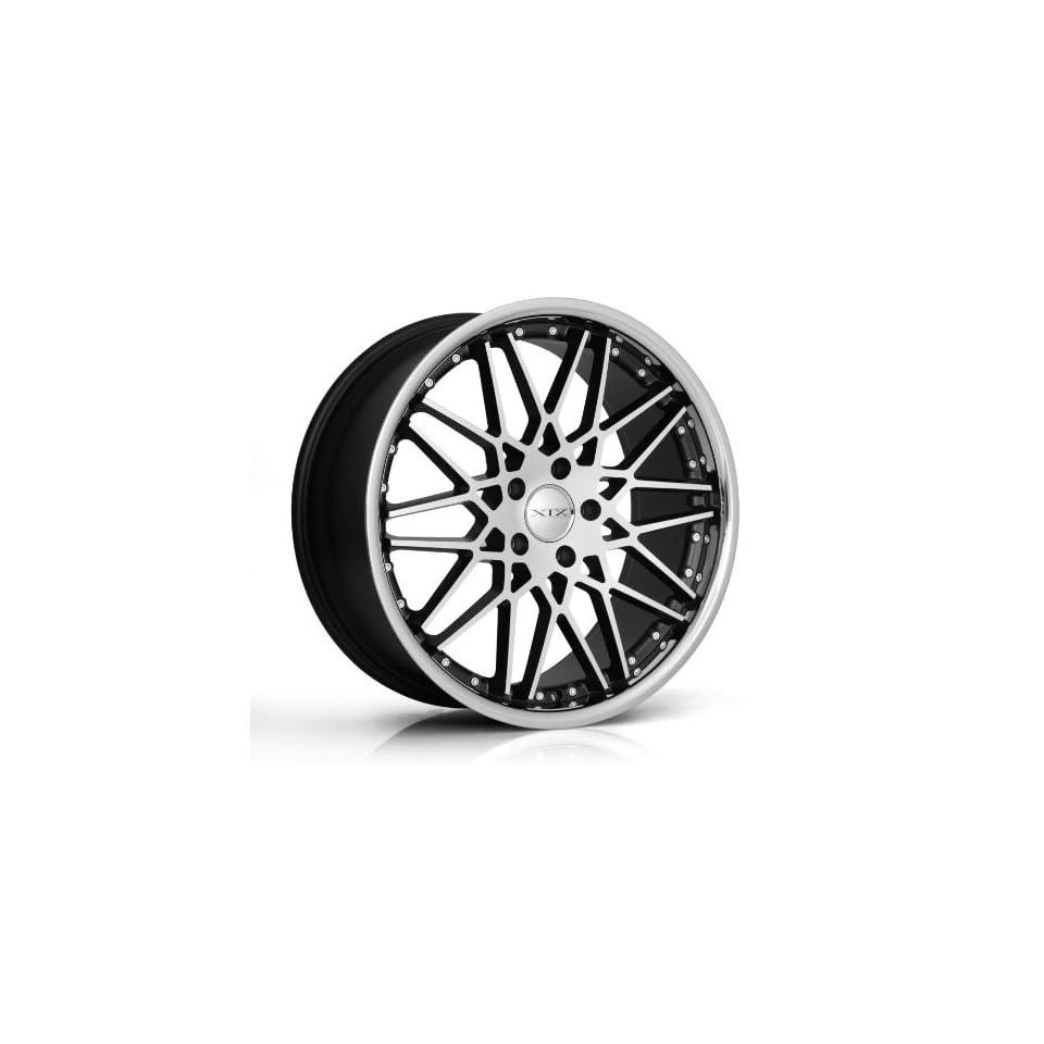 Xix Wheel X25 20x8.5 20x10 Black Machined Face Fits BMW 3 series