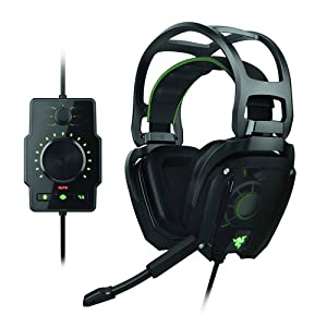 Razer RZ04-00600100-R3U1 Tiamat Elite 7.1 Surround Sound Analog Gaming Headset