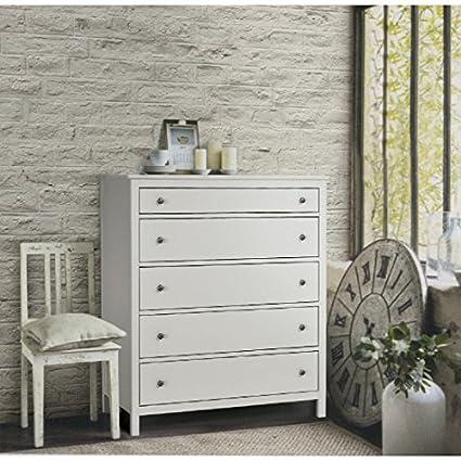 estea meubles-Commode en bois avec le blanc mat-721