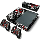 GoldenDeal Xbox One Console and Controller Skin Set - Umbrella Zombie Videogame - Xbox One Vinyl