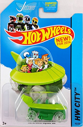 2014 Hot Wheels Hw City [90/250] - The Jetsons Capsule Car - 1
