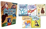 Early Readers Story Collection 5 Books Box Set Childrens Gift Pack Read at Home(Yuck Said the Yak, A Scarf and a Half, Preposterous Rhinoceros, The Black and White Club, Hocus Pocus Diplodocus)