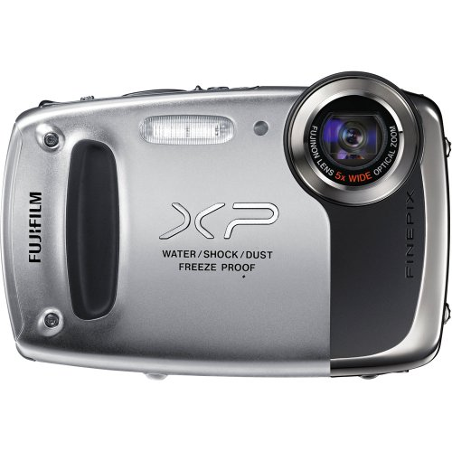 Fujifilm FinePix XP50 Digital Camera (Silver)