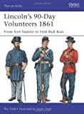 Lincolns 90-Day Volunteers 1861: From Fort Sumter to First Bull Run (Men-at-Arms)