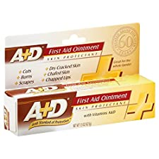 A+D First Aid Ointment, with Vitamins A & D, 1.5 oz (42.5 g)