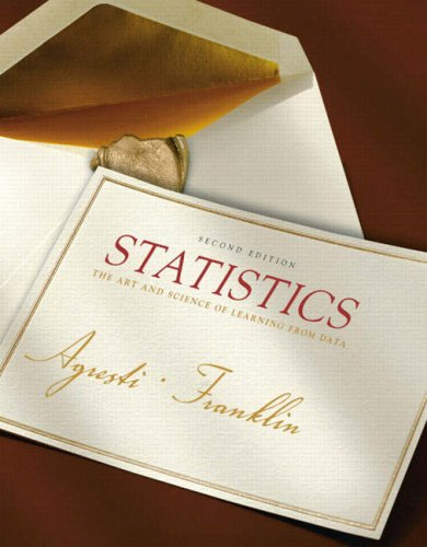 Statistics: The Art and Science of Learning from Data...