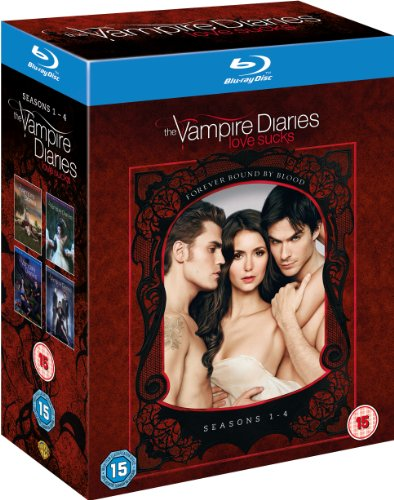 Vampire Diaries-Complete Series 1-4 [Blu-ray] [Import]