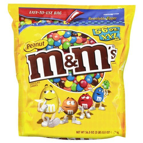 M & M's Peanut 56 Ounce Bag