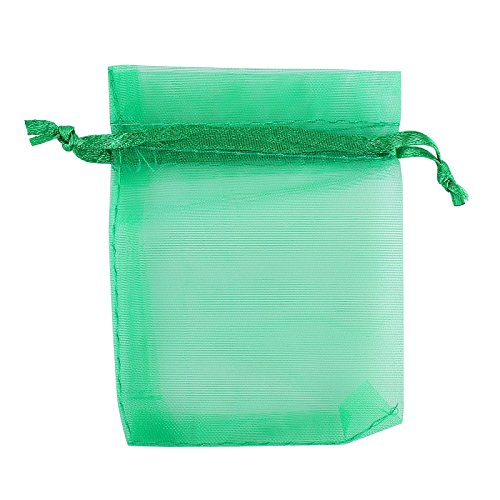 Anleolife 60pcs many colors sheer organza wedding little for 8x4 bathroom designs