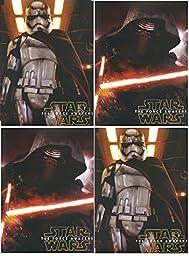 The Force Awakens 4 Star Wars Poly Portfolio Folders -Set of 4