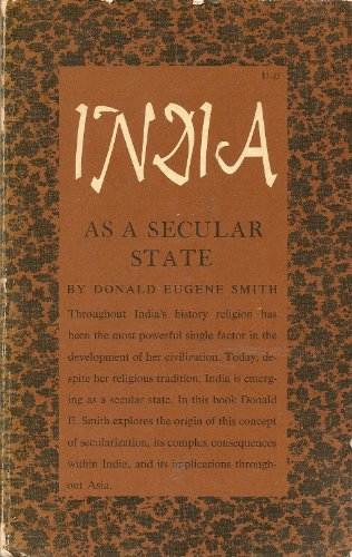 India as a Secular State, Donald Eugene Smith