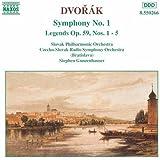 Dvorak: Symphony No. 1 / Legends Nos. 1-5