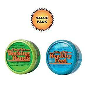 O'Keeffe's Working Hands Cream + O'Keeffe's Healthy Feet Cream :: Value Pack