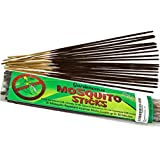 Mosquito Repellent Incense - 20 JUMBO Scented Sticks - Citronella Thyme Oil & Rosemary - Lasts Up To 2.5 Hours