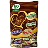 MARS Chocolate Caramel Lovers Fun Size Candy Bars Variety Mix 37.7-Ounce 60-Piece Bag