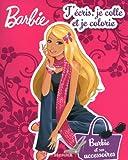 echange, troc Collectif - Barbie, Tome 3 : J'écris je colle je colorie