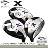 Callaway(キャロウェイ)Xフェアウェイウッド TourAD MD 6シャフト装着