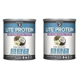 Designer Protein Lite Low Calorie Natural Protein, Coconut Vanilla Delight, 2 Pack 9.03 Ounce Cans (Tamaño: 9.03OZ)