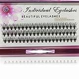 20 Root Hot Sale Grafting false eyelashes False Eyelashes Individual Natural Long Mink Fake Eyelashes Extension Handmade (10mm)