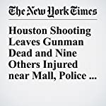 Houston Shooting Leaves Gunman Dead and Nine Others Injured near Mall, Police Say | Christine Hauser