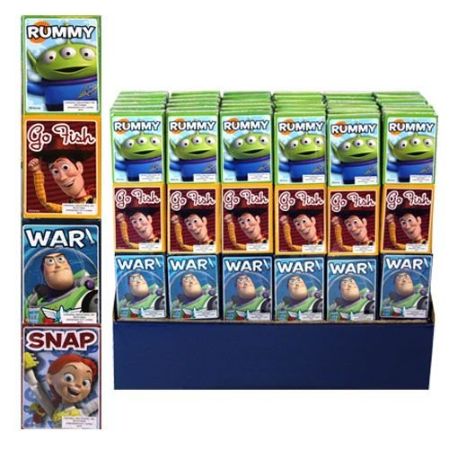 Toy Story 4pk Mini Card in Shrinkwrap - 1