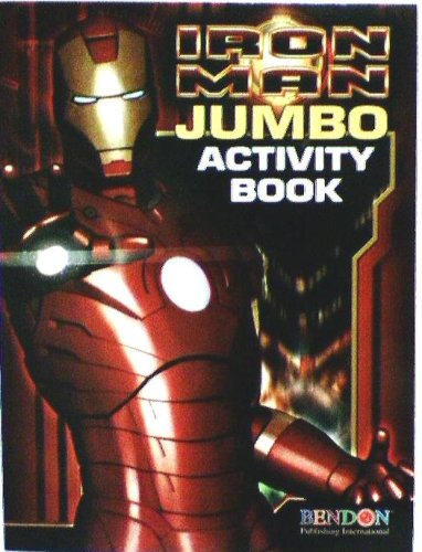 Marvel Comics Iron Man Coloring and Activity Book - 1